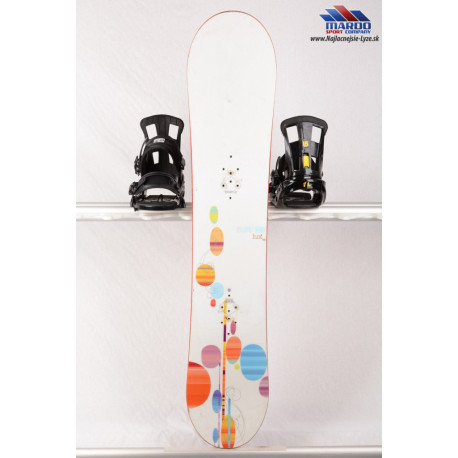 dámsky snowboard BURTON LUX white, SUPERFLY core, DUAL zone ECD, handmade, Woodcore, sidewall, CAMBER