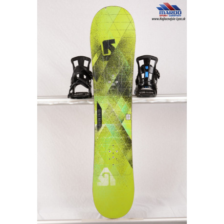 detský/juniorský snowboard BURTON PROGRESSION LTR 2017 green, woodcore, ROCKER