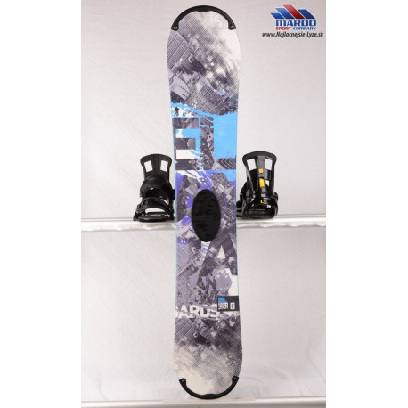 snowboard ELAN RS ROCKER 2017, grey/blue, woodcore,carbon, handmade, ALL terrain, ROCKER ( TOP stav )