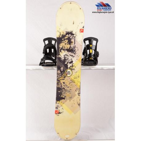 detský/juniorský snowboard HEAD CUBES, FLAT/camber