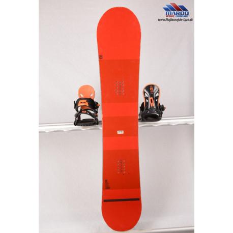 snowboard NITRO TEAM GULLWING, DUAL degressive, SIDEcap, POWERLITE core, REFLEX core profile, HYBRID rocker