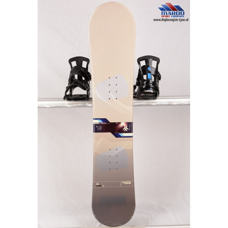 snowboard PROJECT FICTION grey, woodcore, camber ( TOP stav )