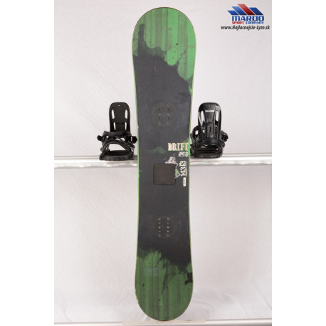 snowboard SALOMON DRIFT ROCKER, BLACK/green, woodcore, framewall, ROCKER