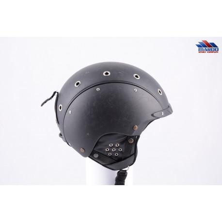 lyžiarska/snowboardová helma CASCO SP-3 AIRWOLF black/silver, nastaviteľná