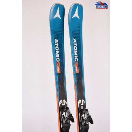 lyže ATOMIC VANTAGE X75 Cti 2018 light woodcore, AM rocker, BLUE + Atomic XT 12