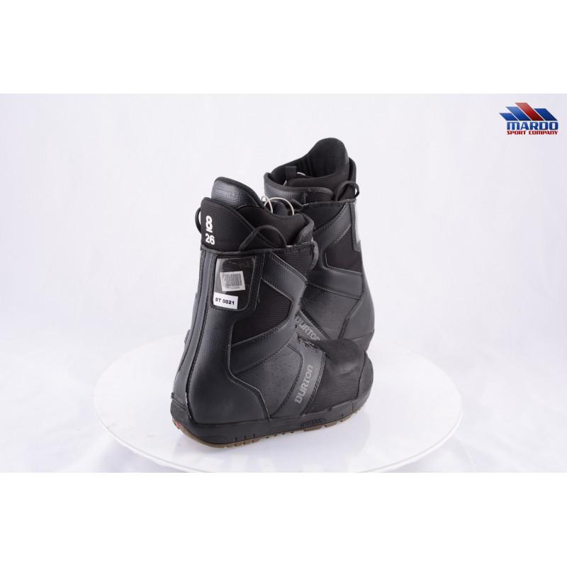 snowboardové topánky BURTON MENS PROGRESSION BOA MOTO, IMPRINT 1, BLACK/grey