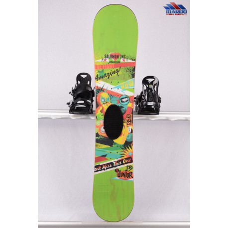 detský/juniorský snowboard SALOMON THE JUNIOR 2017 green, FLAT/rocker