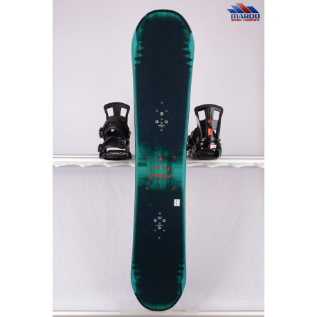 snowboard BURTON PROCESS FLYING V, BLACK/navy, WOODCORE, sidewall, HYBRID/rocker ( TOP condition )