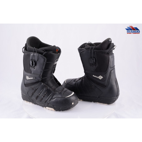 snowboardové topánky BURTON MENS MOTO IMPRINT1, BLACK/white, control lacing
