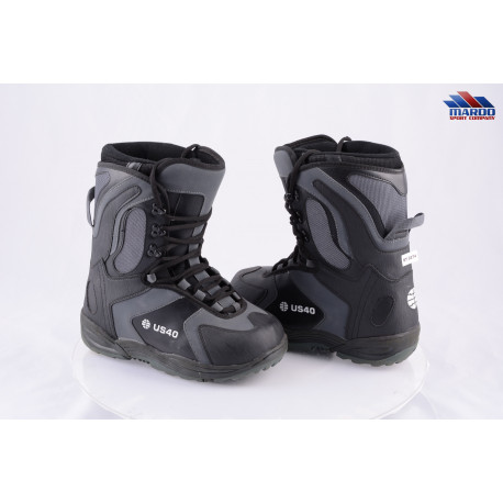 snowboardové topánky ATOMIC US 40, BLACK/grey ( ako NOVÉ )