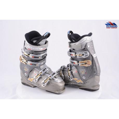 dámske lyžiarky NORDICA ONE S W, GREY/gold, APS system, SKI-WALK, micro, macro