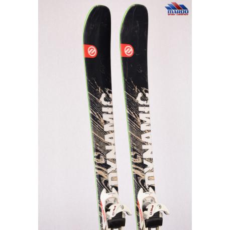 skialpinistické lyže DYNAMIC MOUNTAIN KING advanced, woodcore, All terrain rocker + DIAMIR PRO freeride + Pásy ( TOP stav )