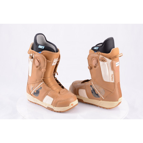 snowboardové topánky BURTON MINT brown, TRUFIT, control lacing