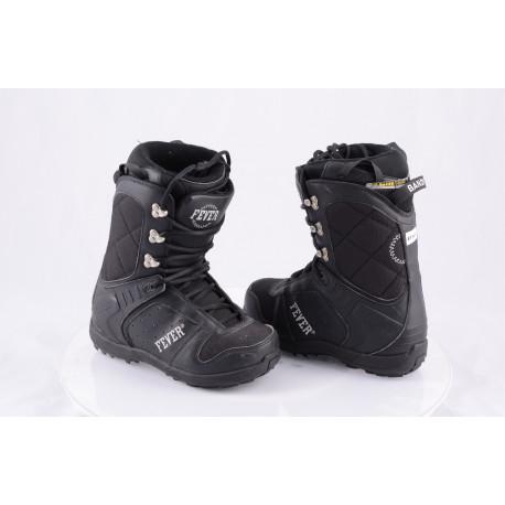 snowboardové topánky FEVER BANDIT H-L-H, Heel look harness, BLACK ( TOP stav )