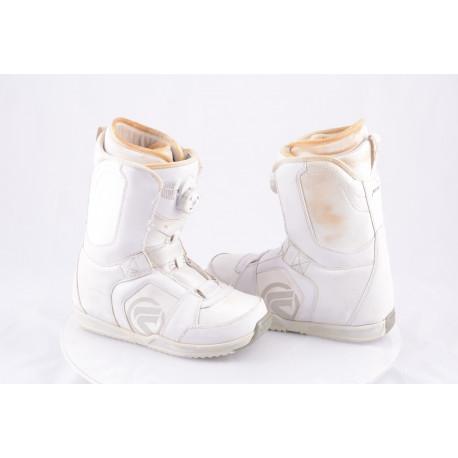 snowboardové topánky FLOW VEGA BOA white, BOA technology