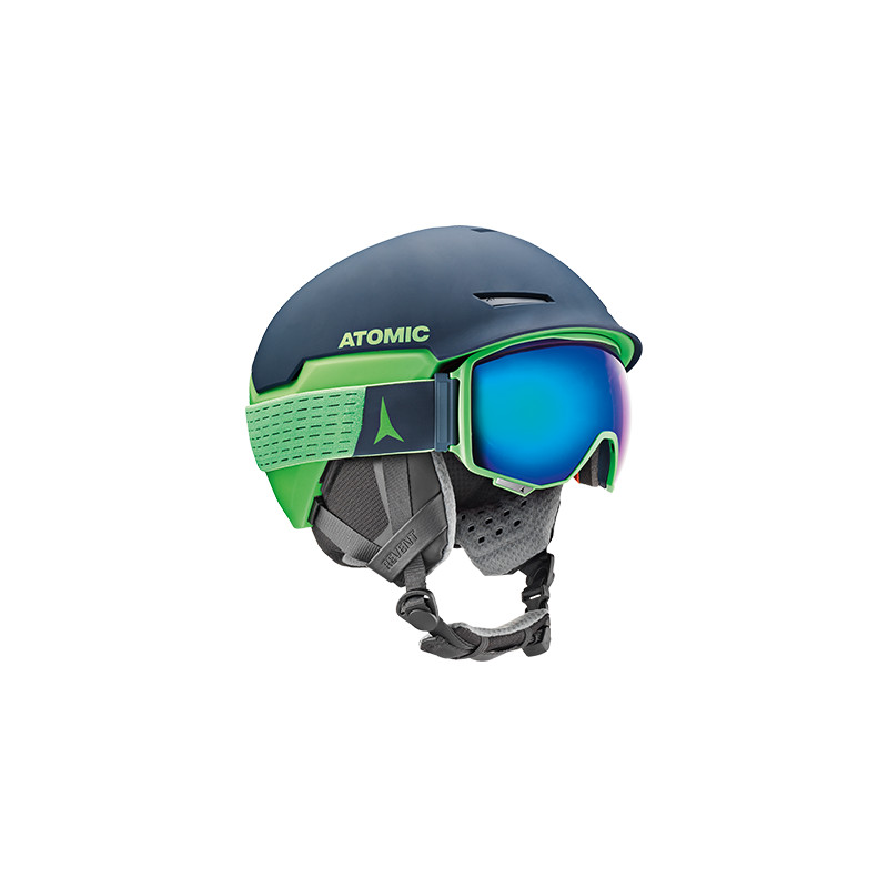 lyžiarske okuliare ATOMIC COUNT 360 HD Green 2019, sterero HD FDL technology