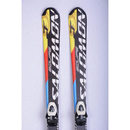 detské/juniorské lyže SALOMON EQUIPE-T, black/yellow + Salomon TZ5