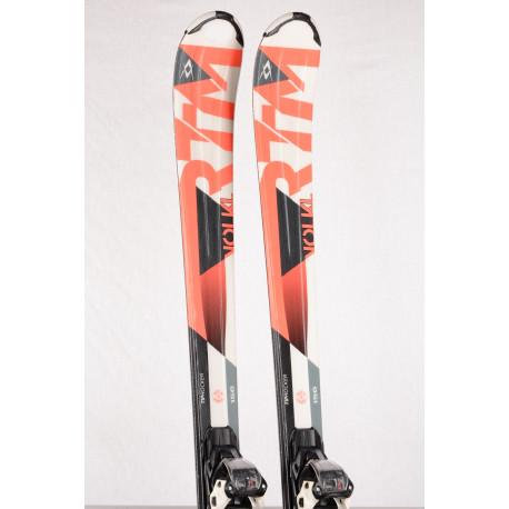 skis VOLKL RTM 7.4 red, full sensor Woodcore, progress. techn., Tip rocker + Marker FDT 10 ( TOP condition )