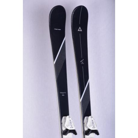 women's skis FISCHER TRINITY, AIR tec, light woodcore carbon + Fischer W9
