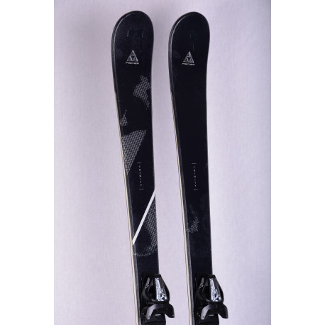 women's skis FISCHER TRINITY, AIR tec, light woodcore, carbon + Fischer W9 ( TOP condition )