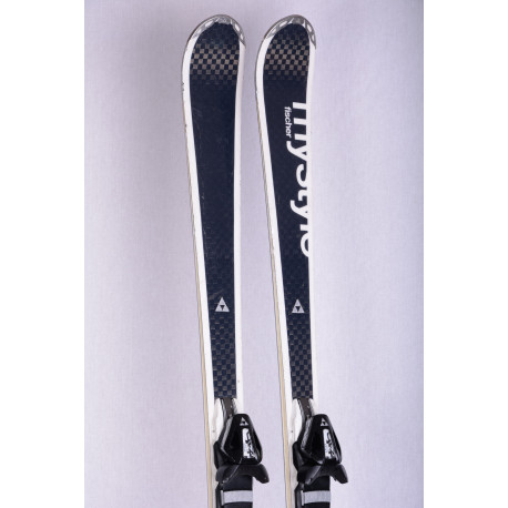 women's skis FISCHER ZEPHYR mystyle C-line, CARBON, woodcore, titan, RACE track tune + Fischer Z10