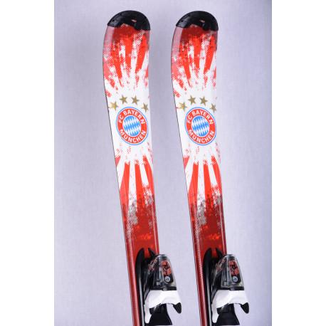 esquís niños ROSSIGNOL FC BAYERN MUNCHEN limited edition + Rossignol KIDX 4.5 ( Condición TOP )