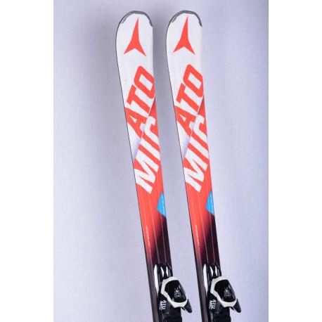 skis ATOMIC PERFORMER XT SC SCANDIUM, LIGHT woodcore, Piste rocker + Atomic L10 lithium ( TOP condition )