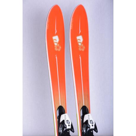 women's skis SALOMON BBR 7.9 SUNLITE Vshape, woodcore, red + Salomon Z10 ( like new )