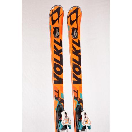 skidor VOLKL RACETIGER GS UVO, Speedwall, Woodcore, Titanium, TIP rocker + Marker Motion X CELL 12 ( TOP-tillstånd )