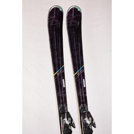 women's skis SALOMON W-PRO SW, Powerline Mg, woodcore + Salomon XT10
