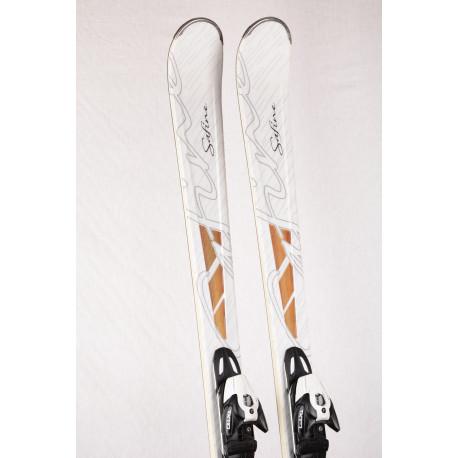 dámske lyže TECNO PRO SAFINE PREMIUM white, Woodcore + Tecno PRO TX 110 ( ako NOVÉ )