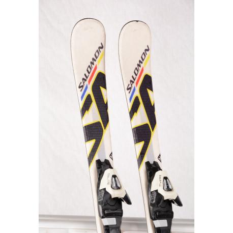 children's/junior skis SALOMON 24hrs MONOQUE SA + Salomon L7
