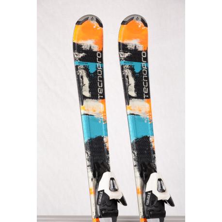 detské/juniorské lyže TECNO PRO PULSE TEAM 66 orange + Atomic XTE 045 ( ako NOVÉ )