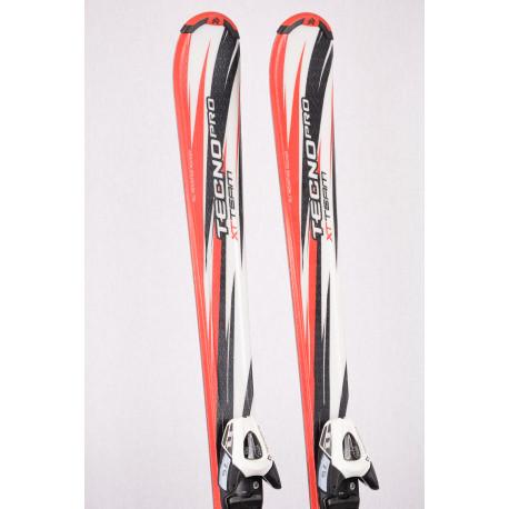 detské/juniorské lyže TECNO PRO XT TEAM, White/red + TECNO TL 75 ( ako NOVÉ )