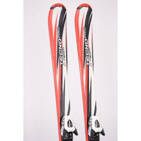 detské/juniorské lyže TECNO PRO XT TEAM, White/red + TECNO TL 75 ( TOP stav )