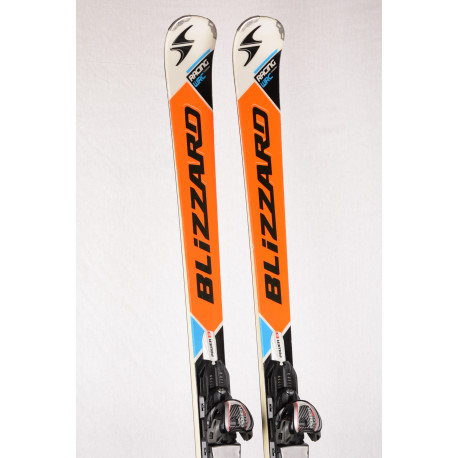 skis BLIZZARD RACING WRC TITANIUM, Power S, Ti2, woodcore + Marker Power 14.0 TCX ( TOP condition )