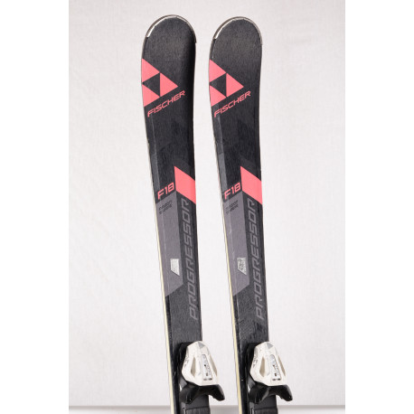 dámske lyže FISCHER PROGRESSOR F18 2017, dual RADIUS, pink, Air-Tec, Woodcore, Razorshape + Fischer W 10