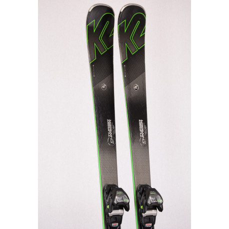 skis K2 TURBO CHARGER, FULL ROX technology, Metal laminate, Speed rocker + Marker MXC TCX 12.0 ( TOP condition )