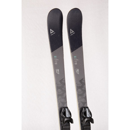 women's skis FISCHER MY TURN 68, AIR tec, LIGHT woodcore + FISCHER W9 ( TOP condition )