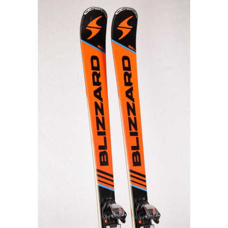 skidor BLIZZARD RC CA, carbon, woodcore + Marker TP 10