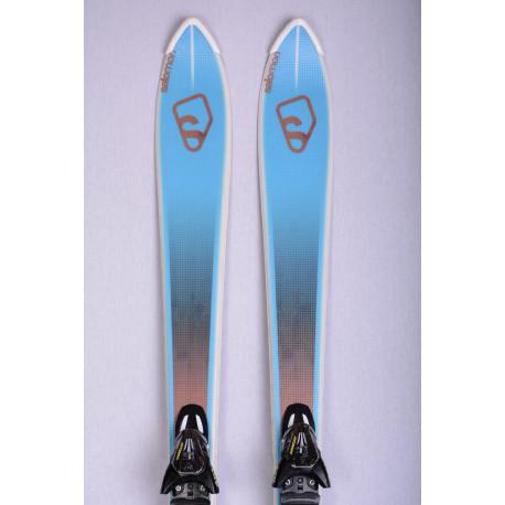 esquís SALOMON BBR 7.5 Vshape, Woodcore + Salomon Z10 ( como NUEVOS )