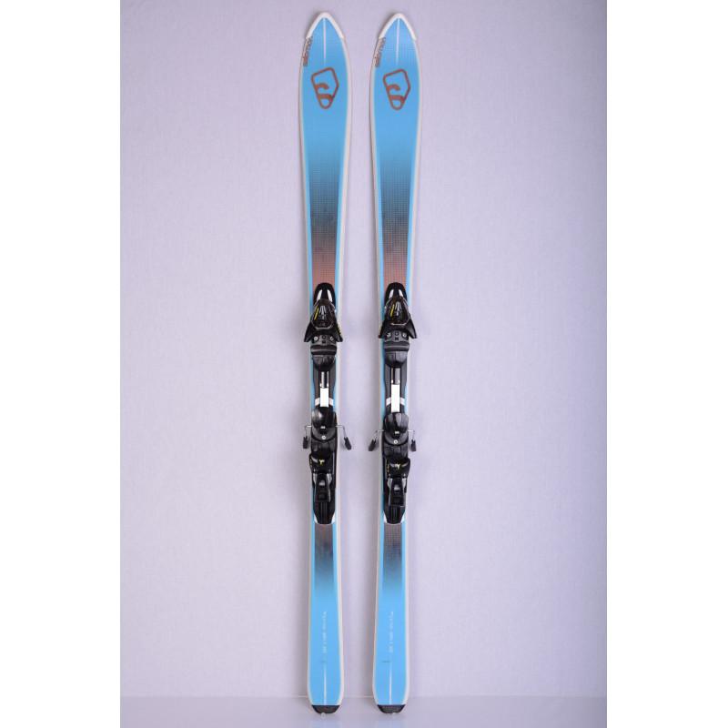skis SALOMON BBR 7.5 Vshape, Woodcore + Salomon Z10