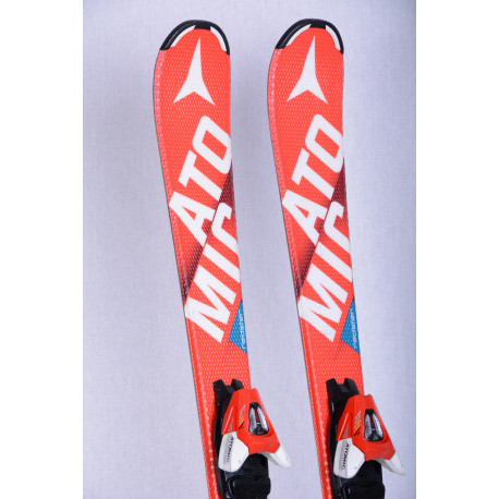 kinder ski's ATOMIC REDSTER XT bend-X, RED, race rocker + Atomic XTE 7 ( TOP staat )