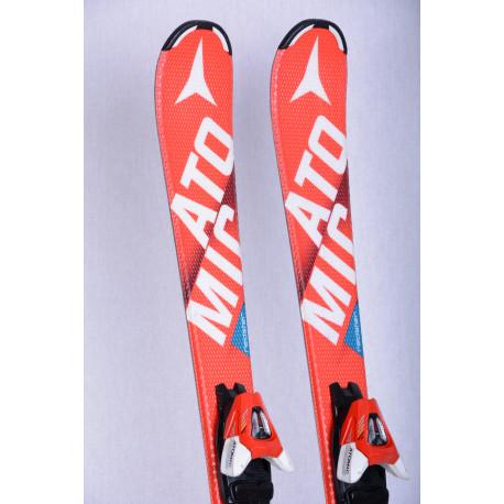 skis enfant/junior ATOMIC REDSTER XT bend-X, RED, race rocker + Atomic XTE 7 ( en PARFAIT état )
