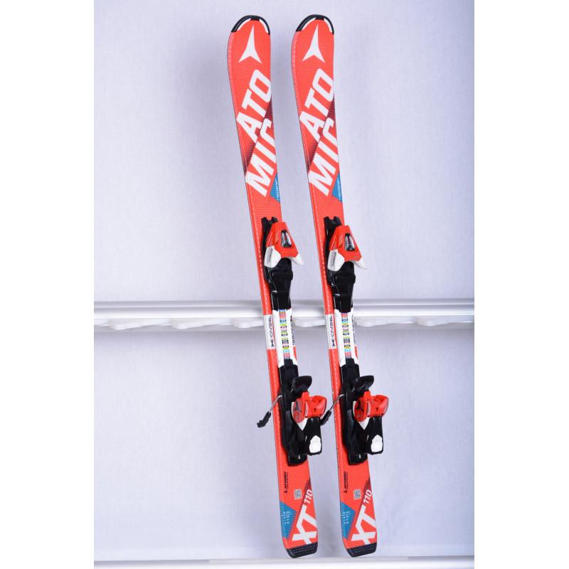 detské/juniorské lyže ATOMIC REDSTER XT bend-X, RED, race rocker + Atomic XTE 7 ( TOP stav )