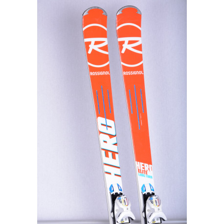 skis ROSSIGNOL HERO ELITE LONG TURN, E-LT Titanal , power turn + Look SPX 12 ( TOP condition )