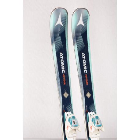 skis femme ATOMIC VANTAGE X 77, LIGHT woodcore, Carbon tank mesh, AM rocker + Atomic 10 lithium ( en PARFAIT état )