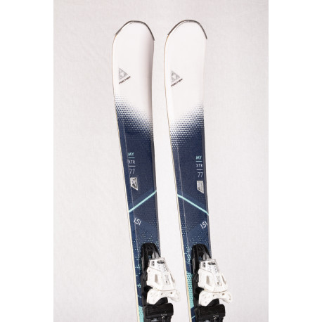 women's skis FISCHER MY XTR 77 2018, AIR tec, LIGHT woodcore + FISCHER MBS 10 ( TOP condition )