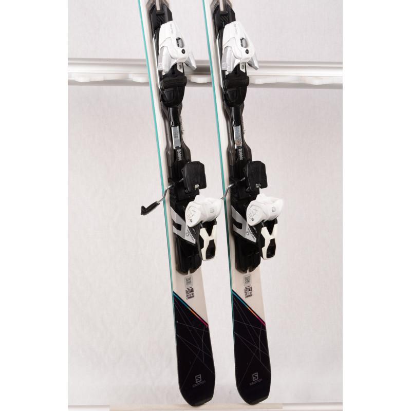dámske lyže SALOMON W-MAX W10, Light WOODCORE, TITAN + Salomon XT 10 ( TOP stav )