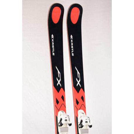Ski KASTLE FX 84 black, WOODCORE, TITANIUM + Marker K12 Cti
